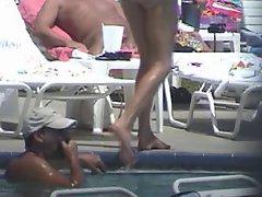 Nude Pool Fun