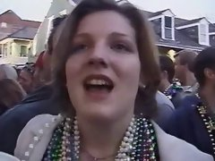mardi gras flasher talks too much