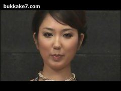 Formal Japanese Lady Bukkake Jizz