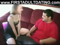 Real amateur swinging fuck and suck on sex dating