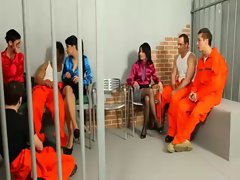Bisexual prisoners and sluts getting it on