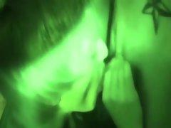 Straight guys hazing in the dark
