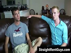 Hetero hunks go gay for cold hard cash gay video