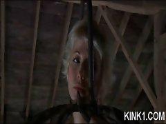 Sub Cries During Punishment
