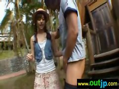 Asians Girls Get Banged In Wild Places video-23