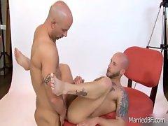 Amazing bald stud posing 7 by MarriedBF gay boys