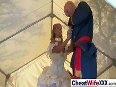 Sexy Slut Wife Get Fucked Hardcore video-17