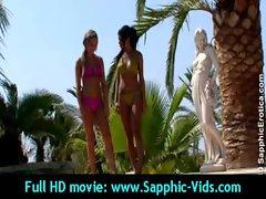 Sexy Young Lesbian Babes Enjoy Oral Sex - Sapphic Erotica 07