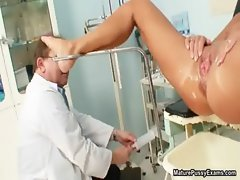 Horny old doctor abusing