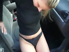 Euro babe sucks and fucks for cash