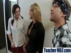 Teachers and Students Get Bang In Class video-19