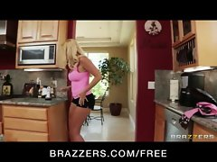 Sexy Blond MILF Alana Evans gets revenge on her cheating husband