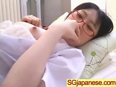 Asians Girls In School Uniforms Get Banged video-27
