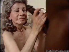 Granny Enjoying Having Interracial Sex black ebony cumshots ebony swallow interracial african ghetto