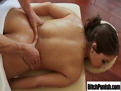 Masseur Fuck Hardcore Hot Big Tits Babes vid-20