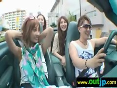 Asians Japanese Girls Get Nailed In Public vid-11