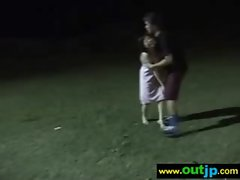 Asians Japanese Girls Get Nailed In Public vid-22