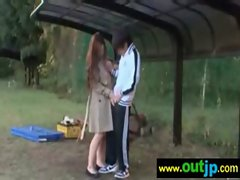 Asians Japanese Girls Get Nailed In Public vid-18