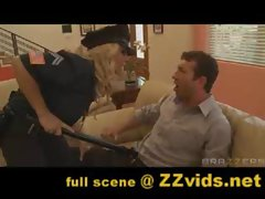 Madison Ivy as police officer! Full scene at www.ZZvids.net