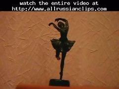 Naked Ballerina Training (nice Feet)  russian cumshots swallow
