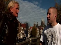 Real dutch naughty whore gets a mouthful
