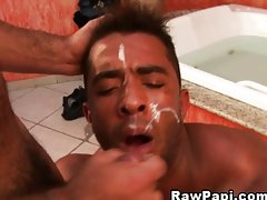Randy gay have bareback fun