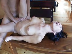 Amateurs banging in the cabin