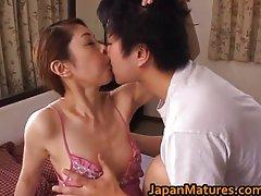Experienced Misa Tachibana Rides To An Orgasm