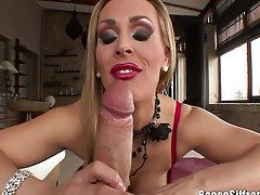 Rocco Siffredi Blown by English Slutty girl