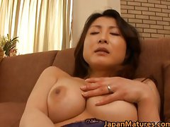 Sensual sensual japanese aged slutty chicks stroking