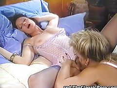 Wild trio with slutty wife and Girlfriend