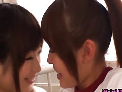 Cock loving asian vixens sucking, banging
