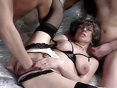 Colette Sigma - Attractive mature banged by 2 18yo Young men
