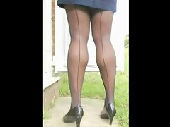 TGirl Stockings Legs 362b