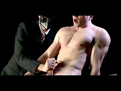 Sensual 18yo jock jerked by elder chap in kinky gay sequence