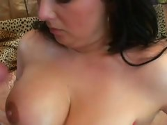 plump dark haired licks shaft
