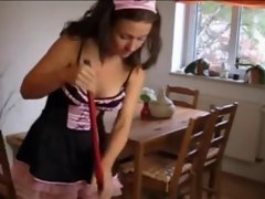 Filthy Sexual House Maid Gets Laid And Sprayed !