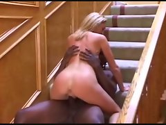 Creampied by a big black meat stick