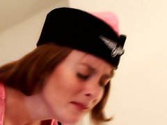 Glamour Tart Samantha gets a spanking