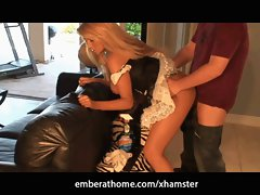 Ember Reigns French Maid Fuck