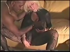 Aged White Dirty wife Bangs Creamed Eats BBC Cum - Cuckold