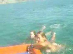 Greek Summer Nymphos
