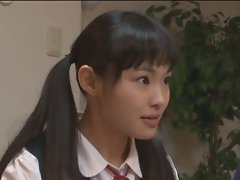 Sizzling teens gets ambushed in the Bathroom - Rina Hatsume (3 of 3)