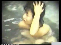Outdoor Bath Naked Loveliness Slutty chicks