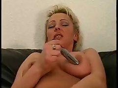 Diana from denmark playing with herself