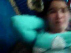 Hazara(Afghan)girl getting twat and knockers fondled by afghan
