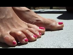 My Ex's Wild Sensual Feet 1