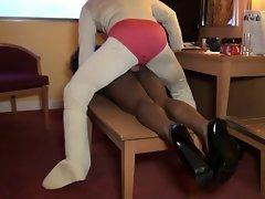 French Ebony Lustful ebony baisee dans sa chambre d hotel