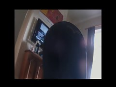 Obese Spycam - Face down, dirty ass up