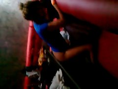 Sexwife is banging in the club in Russia! Cuckold recording!